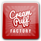 Cream Puff Factory E-Liquid Logo