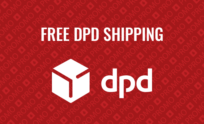 Free DPD UK Shipping