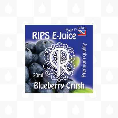 Rips Blueberry Crush E-Juice Logo