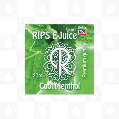 Rips Cool Menthol E-Juice Logo