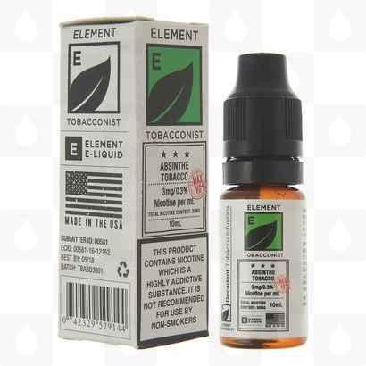 Absinthe Tobacco (Tobacconist Dripper Series) by Element