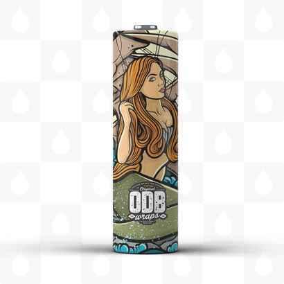 Mermaid 18650 Battery Wraps by ODB Wraps