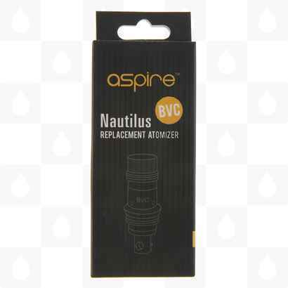 Aspire Nautilus Replacement Dual Coils (Atomiser Heads, Box of Five) Packaging View