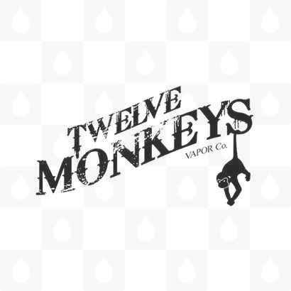 Twelve Monkeys Vapor Co Logo