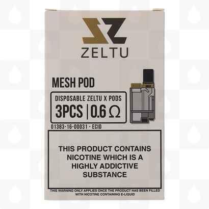 Zeltu X Replacement Pods 0.6 Ohm Mesh